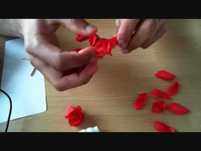 How to make paper flower Rose