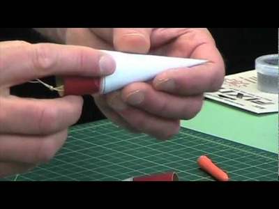 How to Make Paper Nose Cones For Model Rockets 3