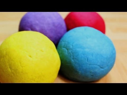 How to Make Play Doh WITHOUT Cream of Tartar