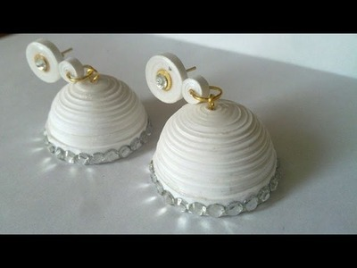 How to make the best earrings malayalam tutorial