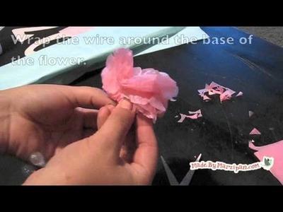 How to Make Tissue Pom Lights