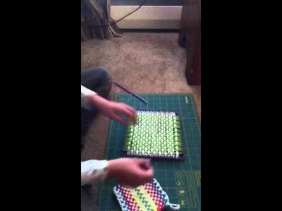 How to make weaving loom (instruction sheet helper)