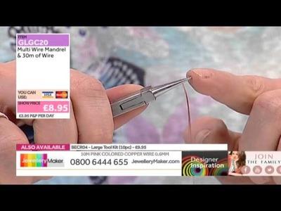 How to Make Wirework jewellery - JewelleryMaker DI 02.03.15