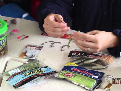 How to Rig Soft Plastic Fishing Baits