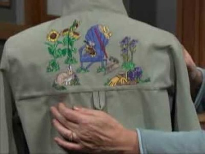 Learn more about Sewing With Nancy's realistic garden-themed embroidery collection