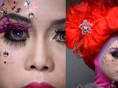 Make Up by Students of Diploma in Beauty, Geomatika Int. College
