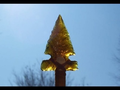 Making Glass Arrowheads (HD)