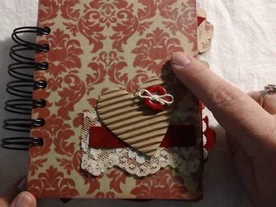 Mini book.junk journal organizer - Part 1