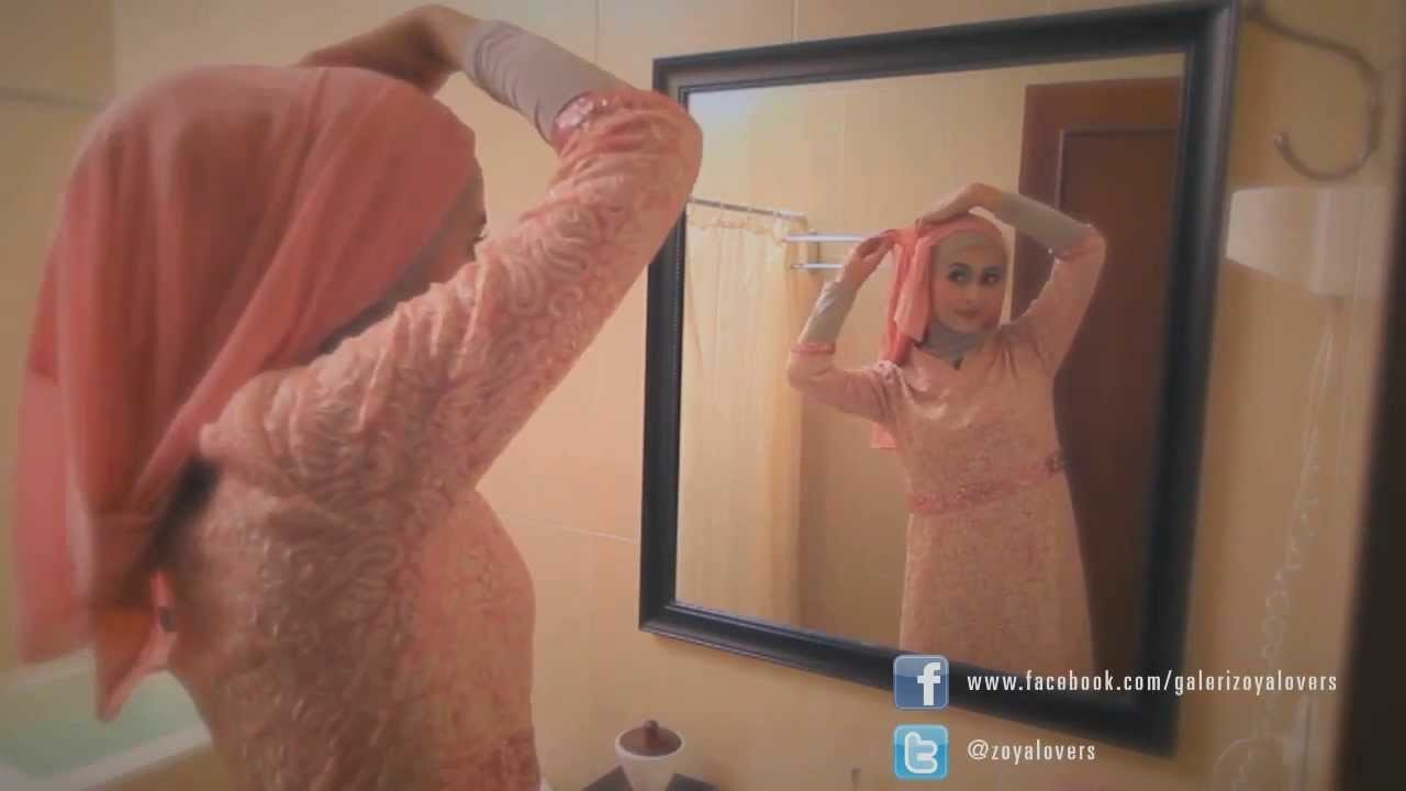 New Hijab Tutorial Zoya Festive Session vol-1