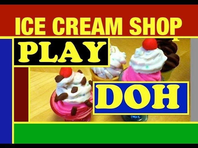 Play Doh Magic Swirl Ice Cream Shoppe Play Set Toy Doh Review by Mike Mozart of TheToyChannel