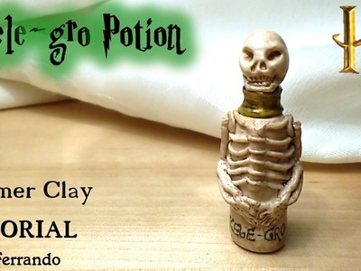 Polymer Clay Skele-gro Potion Tutorial - Harry Potter