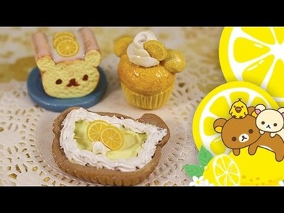 ☼ Polymer Clay Tutorial: Rilakkuma Lemon Series Collab with PinkSugarCotton ☼