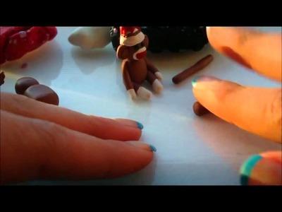Polymer Clay Tutorial: Sock Monkey