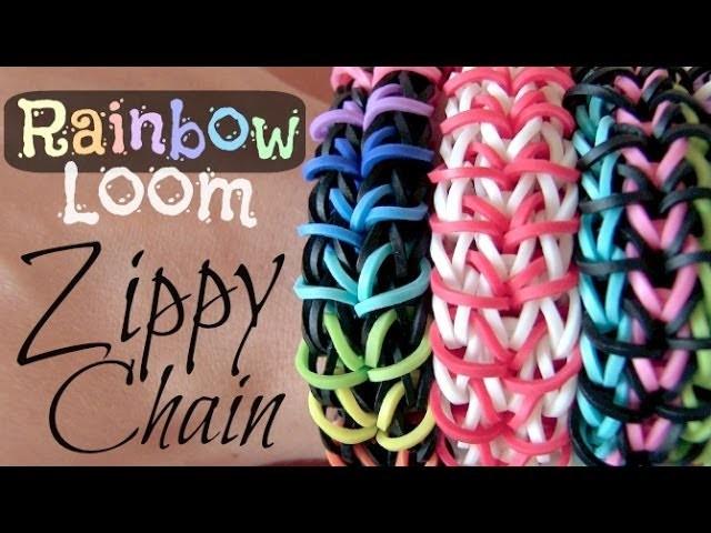 Rainbow Loom : Zippy Chain Bracelet - How To