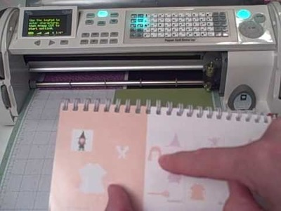 ScrappinCricut's Cricut Expression and the Mix and Match Mode Video