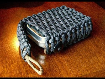 Survival Tin.Playing Card Paracord Pouch