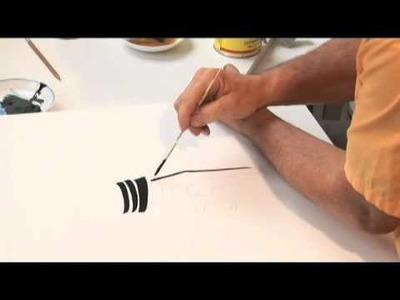 The SIGN PAINTER'S HAND - Joe Amrhein pinxit 4 min. version