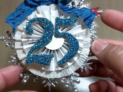"""""""Tis' the Season to Hop"""" Ornament project! (Vid #380)"""