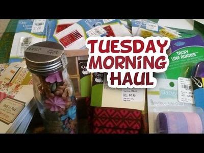 Tuesday Morning Supply Haul - Whitney Sews