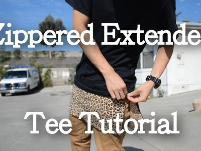 Zippered Extended Tee Tutorial