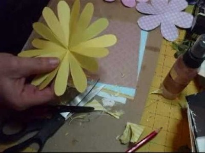 16 & 8 & 6 petal handcut flowers Tutorial - jennings644