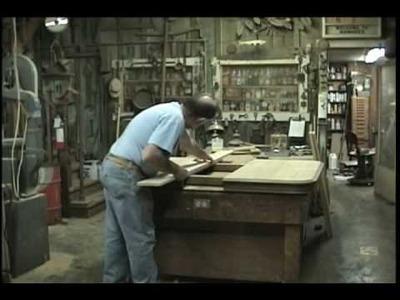 Antique oak table top restoration part 1