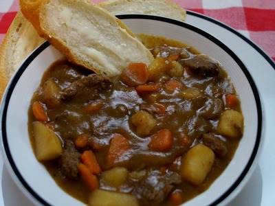 Beef Stew Recipe: How To Make Beef Stew: Mom's Best Recipe: Diane Kometa-Dishin' With Di Video #17