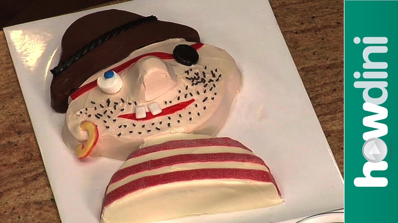 Birthday Cake Ideas: How to Make a Pirate Birthday Cake