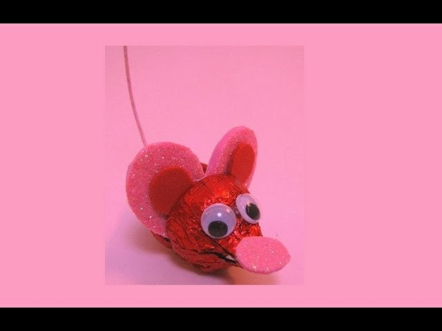 Chocolate Kiss Mouse - Valentine's Day Gift Ideas For Kids