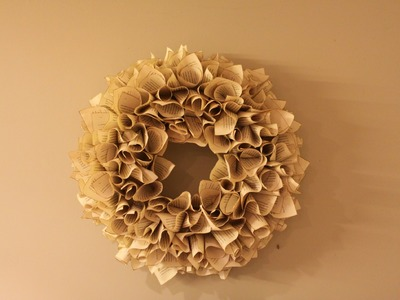 Christmas Wreath - How To