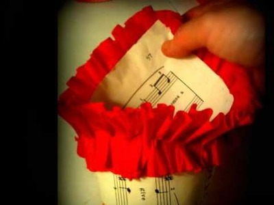 D.I.Y. Valentine's Day Paper Candy Cone Tutorial! SWEET!