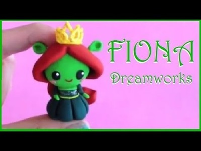 Dreamworks Animation Princess Fiona from Shrek Polymer Clay Tutorial