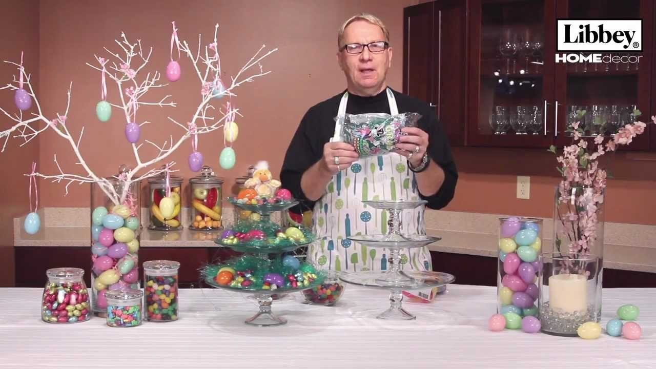 Easter Home Decor Ideas - Libbey Glass
