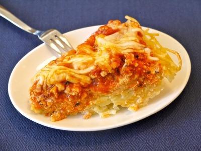 Easy Dinner Recipes for Kids: How to Make Spaghetti Pie - Weelicious