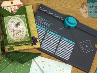 Envelope Punch Board by We R Memory Keepers- TUTORIAL