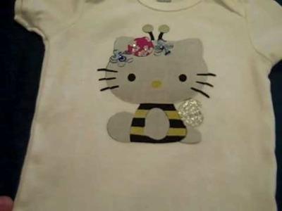 Hello Kitty Onesies - Sizzix Die