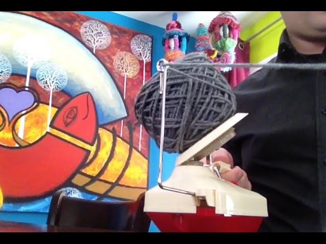 How A Yarn Ball Winder Works