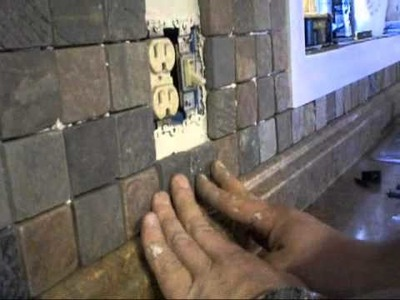How do do a tile kitchen back splash