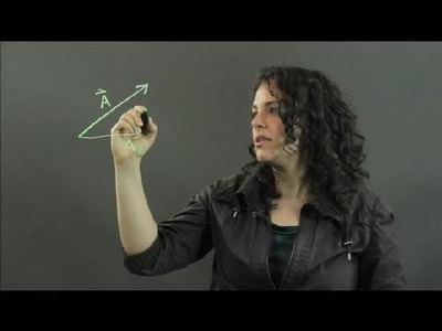 How to Find the Magnitude of a Vector With Two Components : Measurements & Other Math Calculations