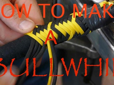 HOW TO MAKE A 8 FOOT PARACORD BULLWHIP
