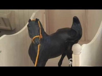 How to make a breyer horse movie- Beginner's edition **MY 100TH VIDEO YAAY!*
