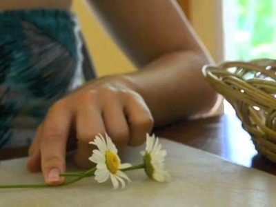 How to make a Daisy Headband