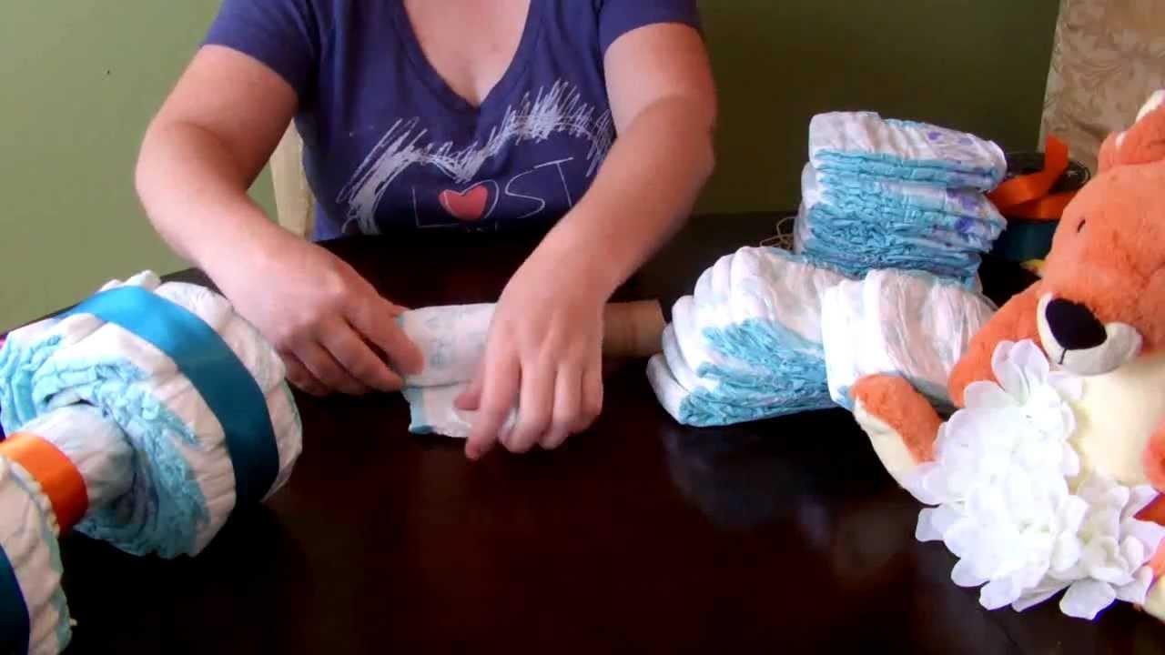 How to make a Diaper Cake - 4 Wheeler. ATV