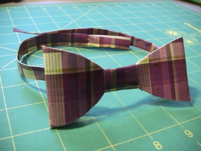 How to make a Duct Tape Bow tie