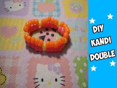How to Make a Kandi Double - [www.gingercande.com]