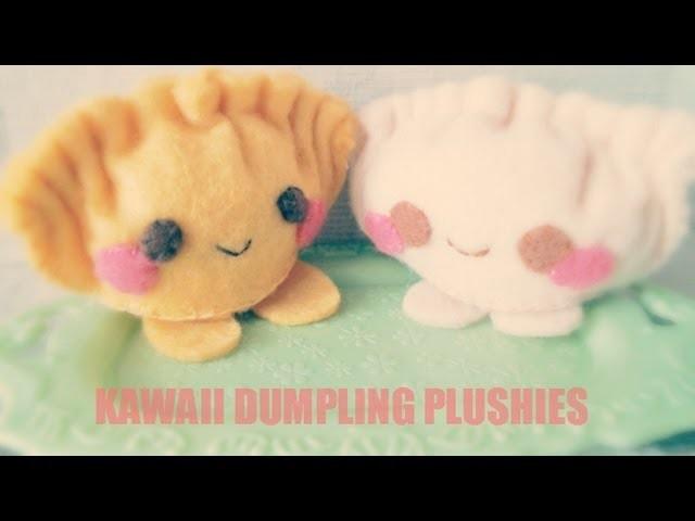 How To Make A Kawaii Dumpling Plushie Tutorial