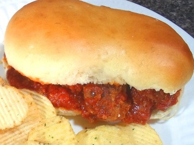 How to make a Meatball Sub Sandwich - Easy Cooking!