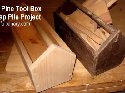 How to Make a Simple Wooden Tool Box (Scrap pile project by Zuki)