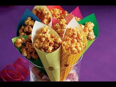 How to Make Caramel Popcorn at Home by Fine Cooking