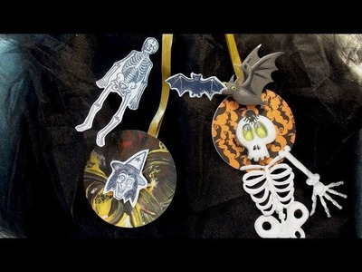 How To Make Easy Paper Halloween Ornaments
